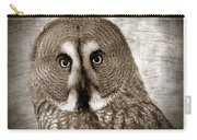 Owls Eyes -vintage Series Carry-all Pouch