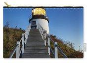 Owls Head Lighthouse Carry-all Pouch