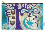 Owls In A Summer Tree Carry-all Pouch
