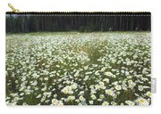 Ox-eyed Daisies And Cascade Mountain Carry-all Pouch