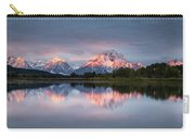 Oxbow Bend Sunrise Carry-all Pouch
