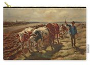 Oxen Plowing Carry-all Pouch