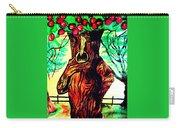 Oz Grumpy Apple Tree Carry-all Pouch by Jo-Ann Hayden
