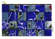 P Patch Poppies Carry-all Pouch