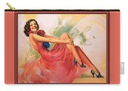 p rarmstrong 091 Rolf Armstrong Carry-all Pouch