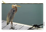 P1104117 Great Blue Heron Carry-all Pouch