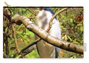 P2024983 Black Crowned Night Heron Carry-all Pouch