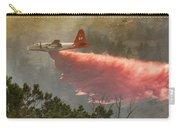 P2v Drops In Ferguson Canyon Carry-all Pouch by Bill Gabbert