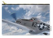 P51 In The Clouds Carry-all Pouch