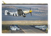 P51 Mustang Little Horse Gear Coming Up Friday At Reno Air Races 16x9 Aspect Signature Edition Carry-all Pouch