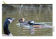 Pa And Ma Hooded Mergansers Carry-all Pouch