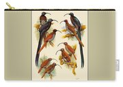 pa FB WilliamTCooper LesserBirdsOfParadise Penny Olsen Carry-all Pouch