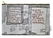 Pablo Neruda Carry-all Pouch