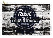 Pabst Blue Ribbon Beer Sign Carry-all Pouch