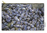 Pacific Blue Mussels Carry-all Pouch