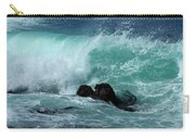 Pacific Coast Crashing Wave Photograph Carry-all Pouch