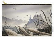 Pacific Northwest Driftwood Shore Carry-all Pouch by James Williamson