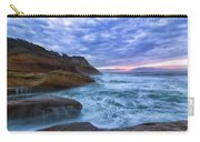 Pacific Ocean At Cape Kiwanda In Oregon Carry-all Pouch