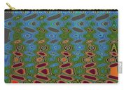 Pacific Ocean From Oregon Abstract Carry-all Pouch