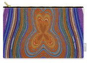 Pacific Ocean Oregon View Abstract # 8085wwpct Carry-all Pouch