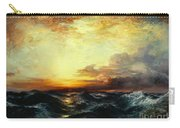 Pacific Sunset Carry-all Pouch by Thomas Moran