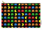 Pacman Seamless Generated Pattern Carry-all Pouch