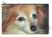 Paco The Papillion Carry-all Pouch