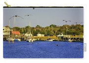 Paddle Boarders Vs Birds Carry-all Pouch