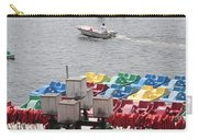Paddleboats Waiting In The Inner Harbor At Baltimore Carry-all Pouch