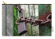 Padlocked Gate Carry-all Pouch