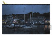 Padstow Harbor At Night Carry-all Pouch
