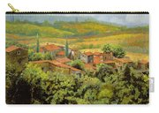 Paesaggio Toscano Carry-all Pouch by Guido Borelli
