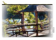 Pagoda Over The Lake Carry-all Pouch