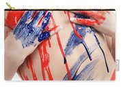 Paint On Woman Body Carry-all Pouch