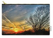 Painted Autumn Sunset Carry-all Pouch