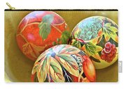 Painted Balls Carry-all Pouch