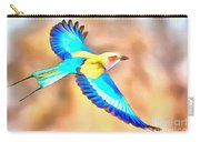 Painted Birds In Skyline Carry-all Pouch