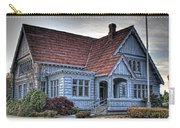 Painted Blue House Carry-all Pouch