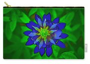 Painted Bluebonnet Carry-all Pouch
