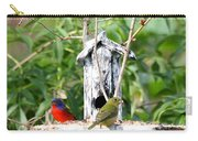Painted Buntings Carry-all Pouch