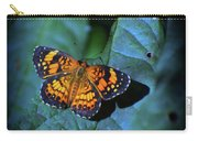 Painted Butterfly Carry-all Pouch