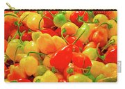 Painted Chilies Carry-all Pouch