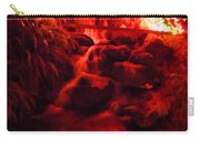 Painted Christmas Waterfall Carry-all Pouch