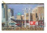 Painted Cincinnati Ohio Carry-all Pouch