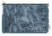 Painted Cyanotype Golden Wheat Carry-all Pouch