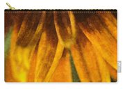 Painted Daisy Petals Carry-all Pouch