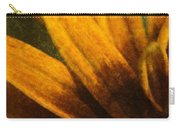Painted Daisy Sunburst Carry-all Pouch