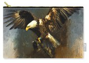 Painted Eagle Carry-all Pouch