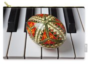Painted Easter Egg On Piano Keys Carry-all Pouch