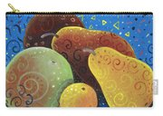 Painted Fruit Carry-all Pouch